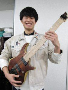 オリジナルギターNo.1は?